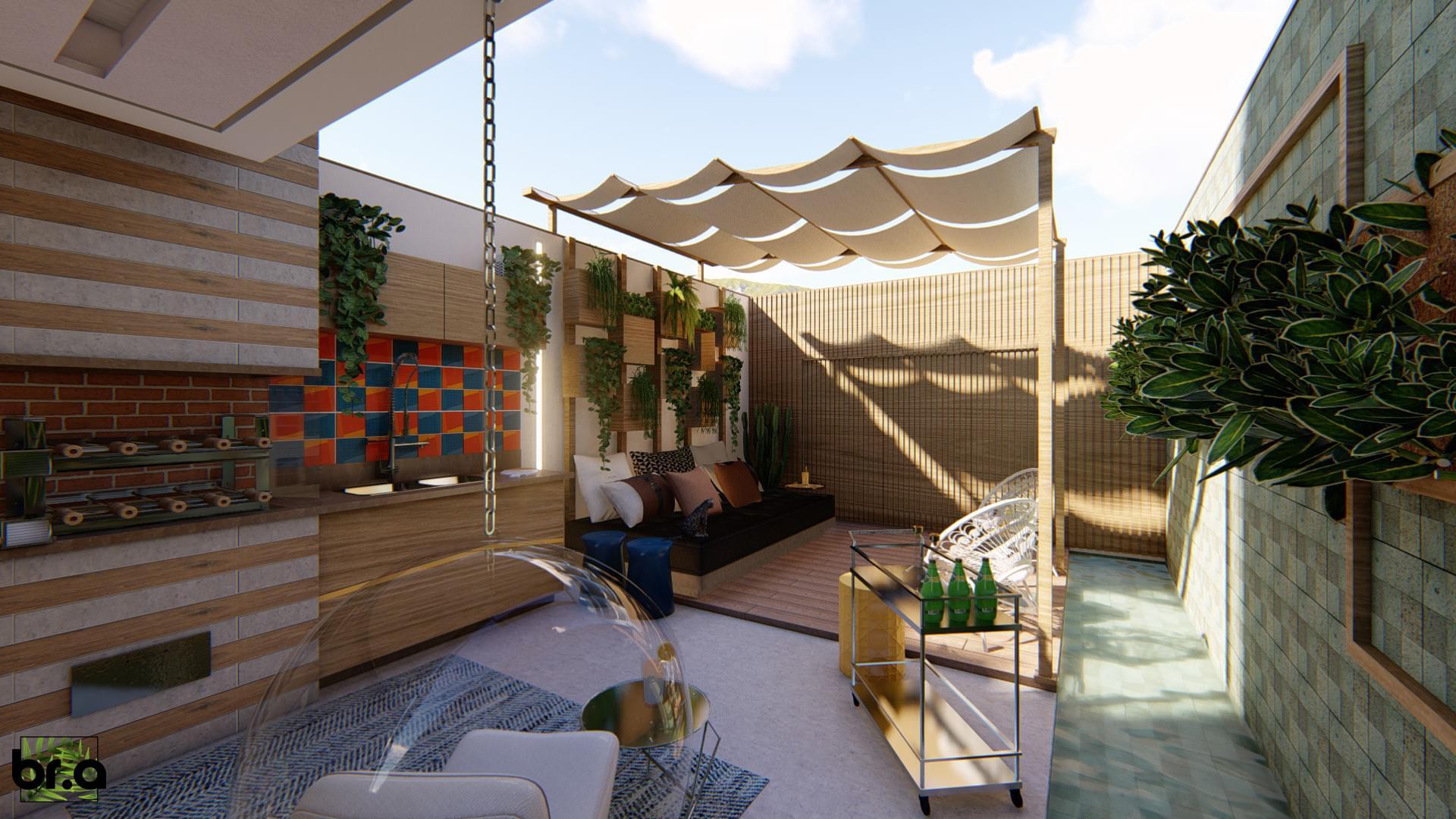 Residência RV - Brasilidade   Projetos e Obras