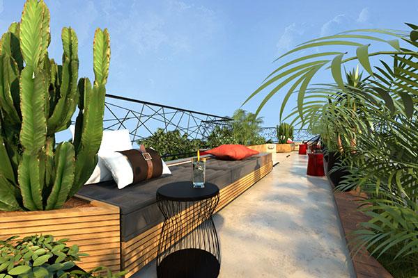 Rooftop - Brasilidade   Projetos e Obras